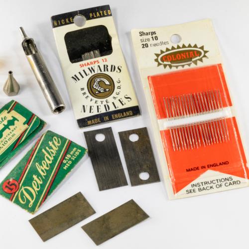 Needles, Bars & Jigs